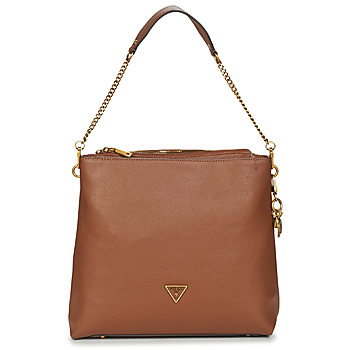 Guess DESTINY HOBO women's Shoulder Bag in Brown. Sizes available:One size