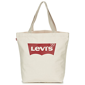 Levis Batwing Tote W women's Shopper bag in White. Sizes available:One size