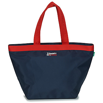 Tommy Jeans TJW CAMPUS TOTE women's Shopper bag in Blue. Sizes available:One size