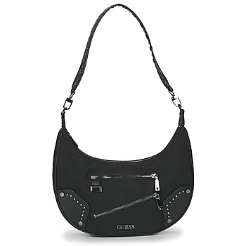 Guess FRANKIE HOBO women's Shoulder Bag in Black. Sizes available:One size