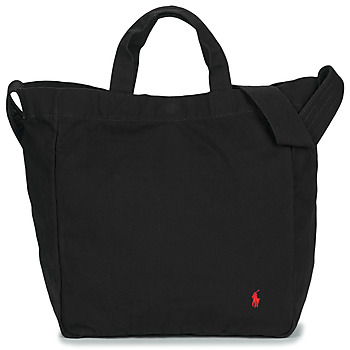 Polo Ralph Lauren SHOPPER TOTE TOTE LARGE women's Shopper bag in Black. Sizes available:One size